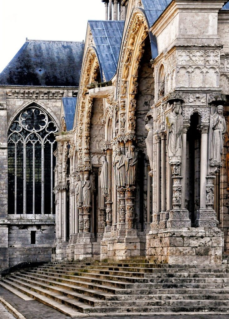 Chartres Cathedral porch portal